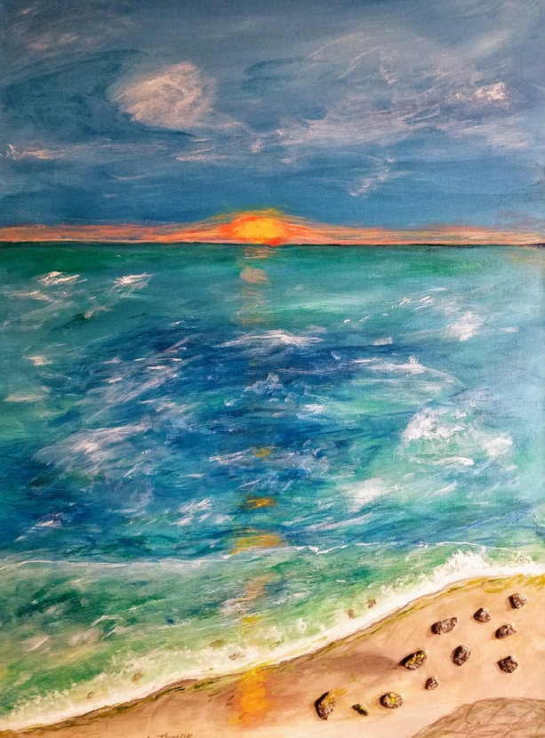 Sunset on the Shore - Lori Thompson
