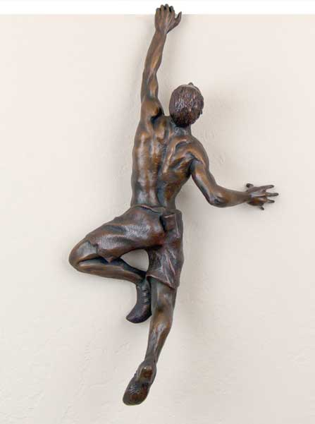 Bronze Sculpture 1 - sculpture by Lance Glasser