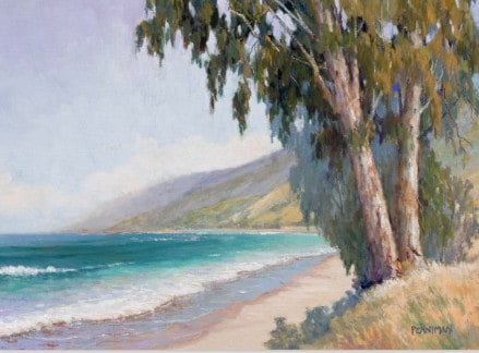 California Central Coast - painting by Ed Penniman