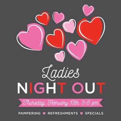 Ladies Night Out - Willow Glen - Feb 13th