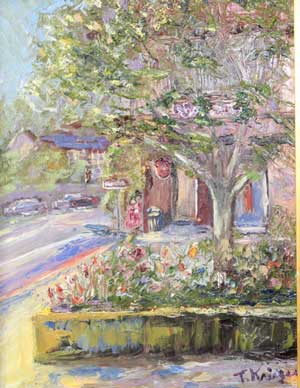 Los Gatos Afternoon - Painting